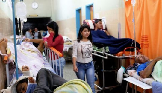 Venezuela health crisis: sharp rise in infant mortality and maternal death rates