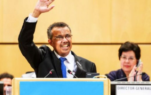 Dr Tedros Adhanom Ghebreyesus elected next WHO Director General